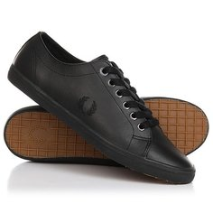 Кеды кроссовки низкие Fred Perry Kingston Leather Black