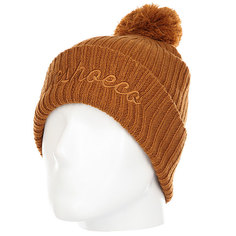 Шапка DC Trilogy Hats Leather Brown