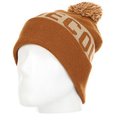 Шапка детская DC Chester Hats Leather Brown
