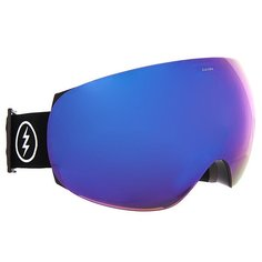 Маска для сноуборда Electric Eg3 Gloss Black Brose/Blue Chrome
