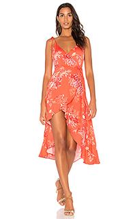 Платье с запахом hotsprings waterfall - MINKPINK