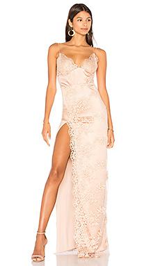 Атласное вечернее платье motel jay - Gemeli Power