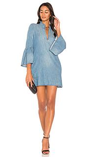 Мини платье с рукавами колокол - BLANKNYC [Blanknyc]