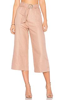 Укороченные брюки с завязкой на поясе - AVEC LES FILLES