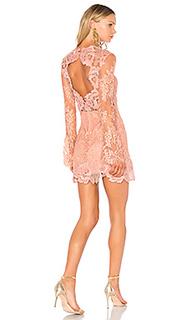 Кружевное мини-платье leondra - SAYLOR