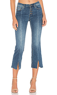 Укороченные джинсы на пуговицах спереди - Free People