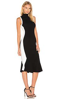 Платье с баской illusion - KENDALL + KYLIE
