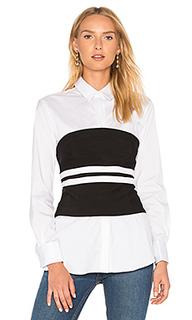 Рубашка на пуговицах с бюстье - KENDALL + KYLIE