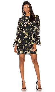 Цельнокроеное платье из шифона - Bobi