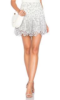 Кружевная юбка emile - Ganni