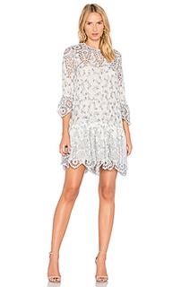 Кружевное платье emile - Ganni