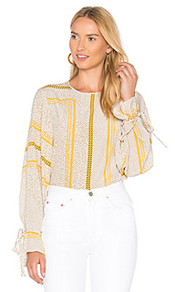 Блуза с рукавами-колокол - DEREK LAM 10 CROSBY