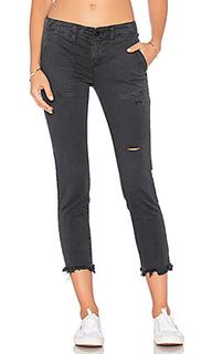 Рваные брюки из твила - Pam & Gela