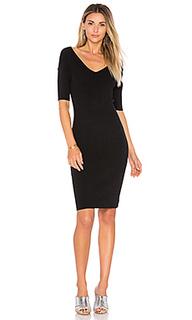 Платье с широким v-вырезом portrait - 525 america