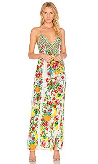 Платье с асимметричным запахом - Camilla
