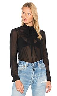 Блуза с завязкой на шее - Carven