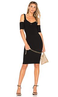 Вязаное платье с вырезами на плечах francis - MINKPINK