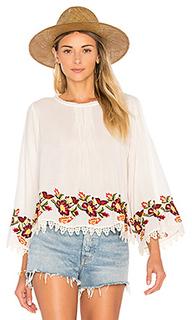 Блуза с вышивкой jeslyn - Velvet by Graham & Spencer