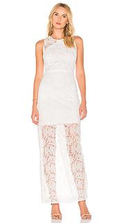Вечернее платье с панельным оверлеем - Diane von Furstenberg