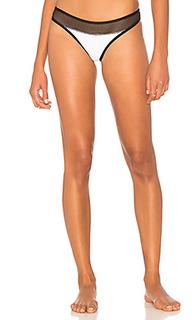 Кокетливые плавки бикини с сеточным поясом - KENDALL + KYLIE