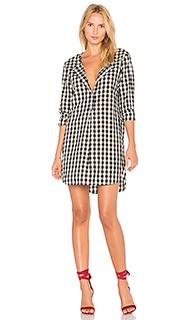 Платье из рубашечной ткани oxford - Stateside