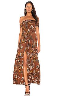 Платье с открытыми плечами margaret - Clayton