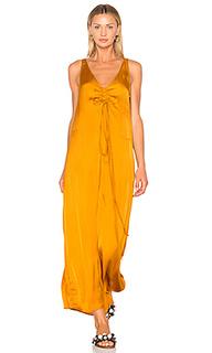 Платье со шнуровкой спереди - Raquel Allegra