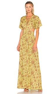 Макси-платье с вырезом - ANIMALE