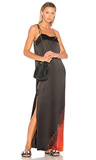 Прямое платье с отделкой омбре - Raquel Allegra