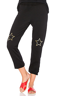 Спортивные брюки со звездами из фольги plato - Michael Lauren