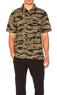 Рубашка seersucker safari - Stussy