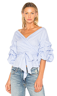 Блузка с запахом beacon street wrap - Central Park West