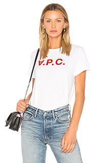 Футболка vpc - A.P.C.