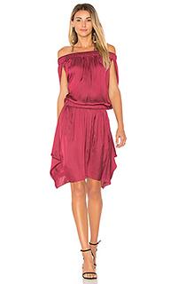 Свободное платье с открытыми плечами - Halston Heritage