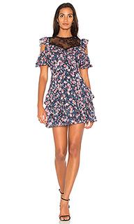 Платье с принтом чайная роза - Rebecca Taylor