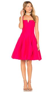 Платье на шлейках с разрезом - Halston Heritage