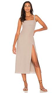 Платье миди crawford - TROIS