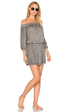Платье с открытыми плечами aletta - YFB CLOTHING