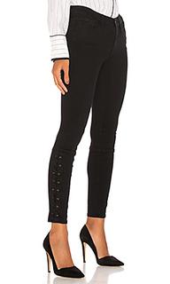 Узкие джинсы на шнуровке elise - Etienne Marcel