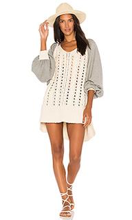 Пуловер с крупной вязкой hideaway - Free People