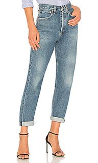 Свободные джинсы средней посадки 90s - AGOLDE