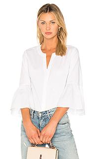 Блуза на пуговицах с рукавами-колокол - 1. STATE