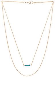 Двойное ожерелье edith - Mimi & Lu