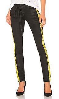 Узкие джинсы с 5 карманами - OFF-WHITE