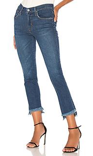 Прямые джинсы с асимметричным низом - James Jeans