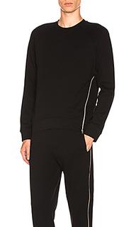 Пуловер с круглым вырезом и смещенной молнией - McQ Alexander McQueen