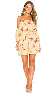 Мини-платье с цветочным рисунком sundance - MINKPINK