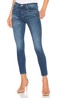 Супер узкие укороченные джинсы с высокой талией - Current/Elliott