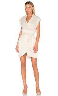 Платье-рубашка с коротким рукавом - Halston Heritage