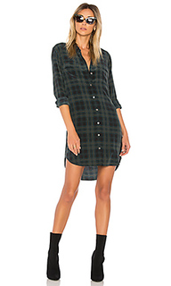 Платье с плиссировкой slim signature - Equipment